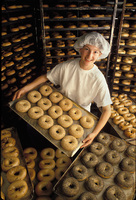 Bagel Baking -Bklyn